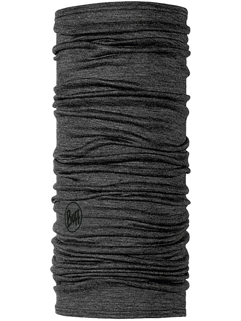 Buff Lightweight Merino Wool Neck Tube Solid Grey
